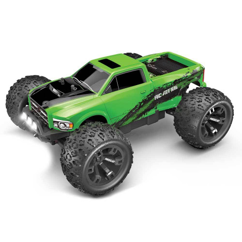 RedCat RC-MT10E 1/10 Scale Brushless Monster Truck Green