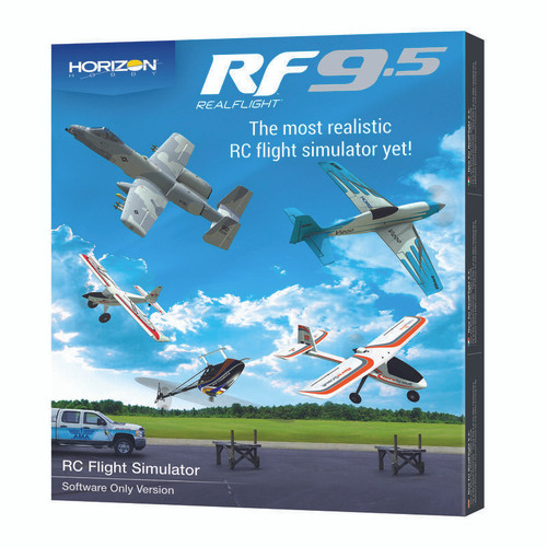 RealFlight 9.5 Flight Simulator Software Only