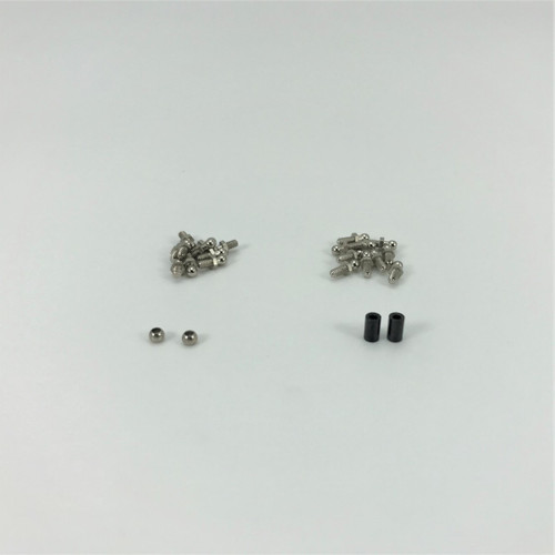 1RC Racing Ball Stud & Pivot Ball Set, 1/18 Mid, Spr 1RC8001