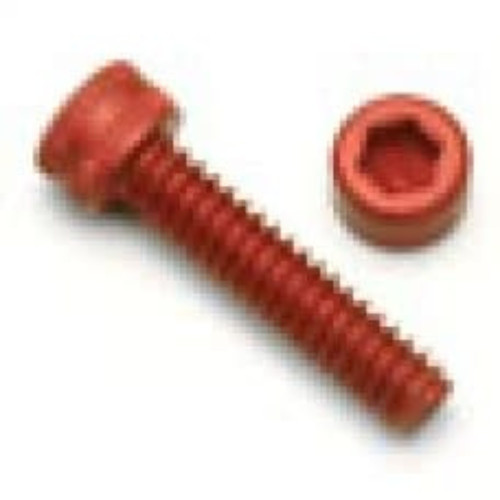 Socket Top Screw M3 Red 6mm