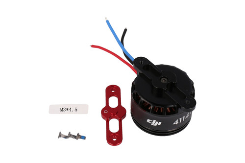 S1000 part 55 Premium 4114 Motor with red Prop cover
