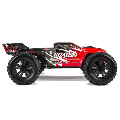 Arrma KRATON 6S 4WD BLX 1/8 Speed Monster Truck RTR Red ARA8608V5T1