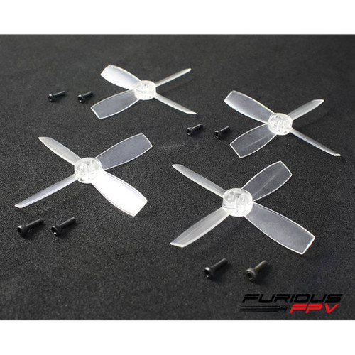 Furious FPV Propellers High Performance-Transparent-1935-4-Blade
