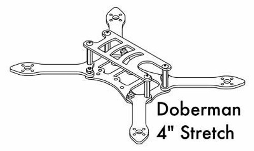 DETROIT MULTIROTOR Doberman 4 inch Stretch