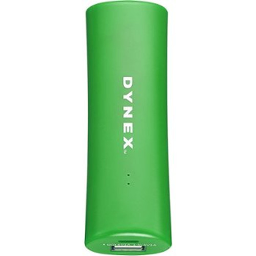 Dynex - 2000 mAh Portable Charger-Green