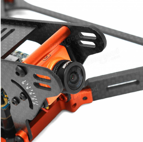 Realacc Real1 220mm 5 Inch 4mm Thickness Vertical Arm CNC Carbon Fiber FPV Racing Frame