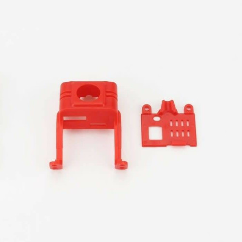 Babyhawk Parts - Front And Back Shell Of Camera Support Red