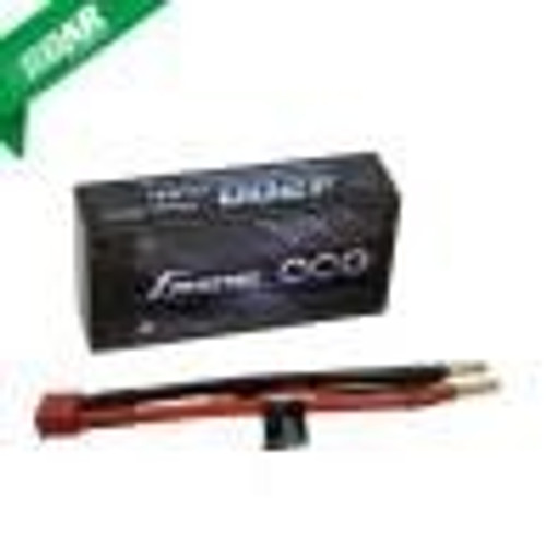 Gens ace 4200mAh 7.4V 60C 2S2P HardCase Lipo Battery Shorty Pack 29#