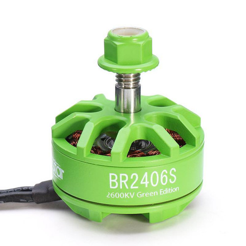 Racerstar 2406 BR2406S Green Edition 2600KV 2-4S Brushless Motor For X220 250 280 300 Racing Drone