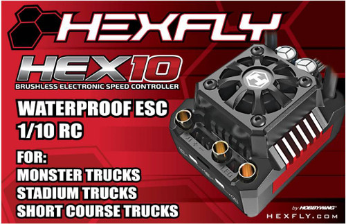 RedCat Racing Electronic Speed Control (ESC) HX-1040-CRAWLER 13855 RER09886