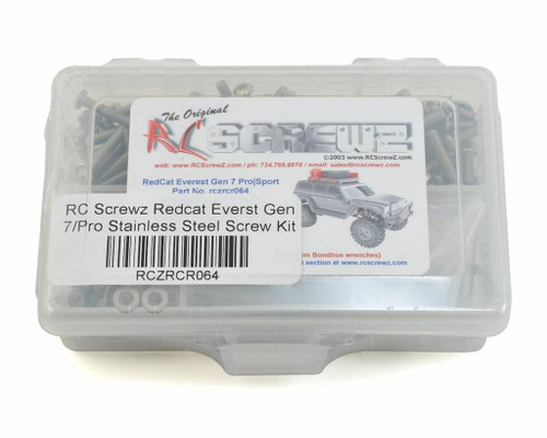 RCScrewz RedCat Racing Everest Gen 7 pro/sport Stainless Steel (rcr064)