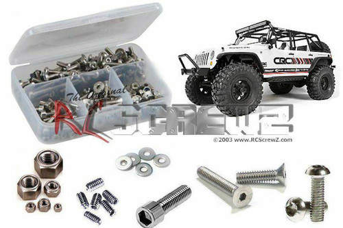 RCScrewz Axial Wrangler C/R Edition Stainless Screw Kit (axi020)