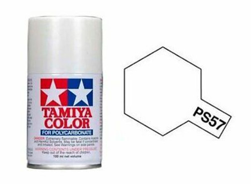 Tamiya Polycarbonate Paint PS-57 Pearl White 100ml Spray