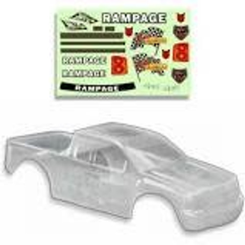RedCat Racing 1:5 Truck Body Clear
