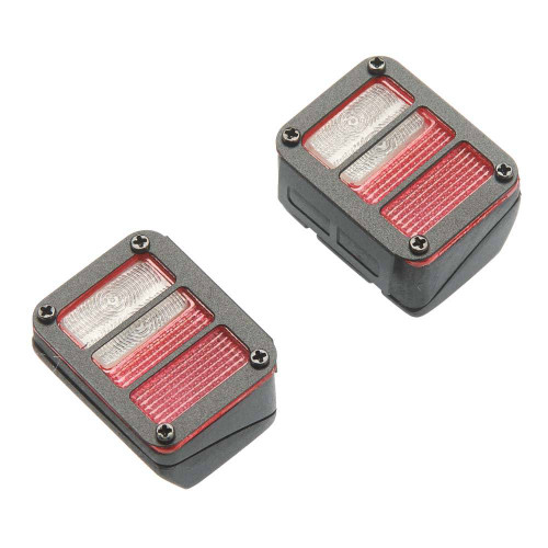 RC4WD VVV-C0181 Colored Functional Rear Taillight w/Grid Fram