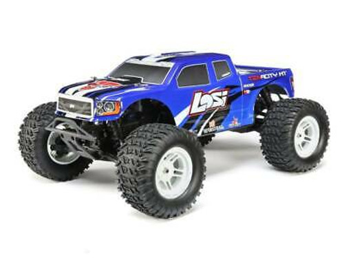 Losi TENACITY Monster Truck, Blue, AVC: 1:10 4WD RTR