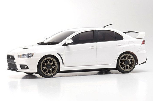 Kyosho Mini-Z (32142PW-B) AWD MA-020S Mits. Lancer Evolution X Pearl White RS