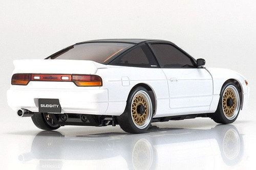 Kyosho (32136WB-B) MINI-Z MA-020S SILEIGHTY with LED White/Black Roof Ready Set