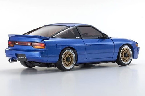 Kyosho (32136BL-B) MINI-Z MA-020S NISSAN SILEIGHTY with LED Blue Ready Set