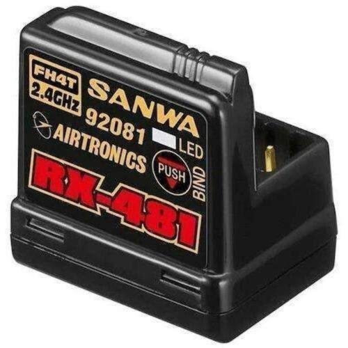 Sanwa 4channel RX481 Receiver w/ built-in Antenna