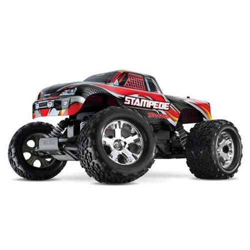 TRAXXAS Stampede Monster Truck RTR w/ID, w/2.4Ghz, Red