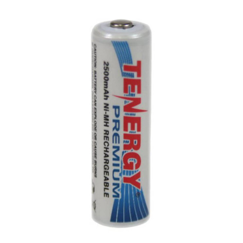 Tenergy Premium 1.2V 2500mAh Ni-MH AA Rechargeable Battery