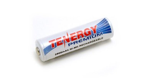 Tenergy Premium 1.2V AA 2500mAh Ni-MH rechargeable Battery