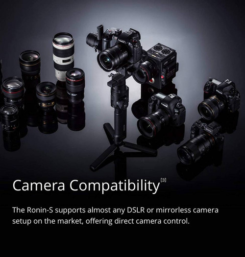Ronin-S Handheld 3-Axis Gimbal Stabilizer