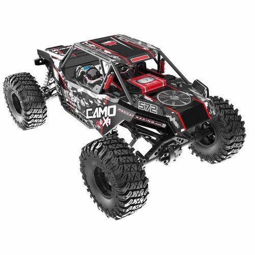 Redcat Camo X4 Pro 1/10 Scale Brushless Electric Rock Racer