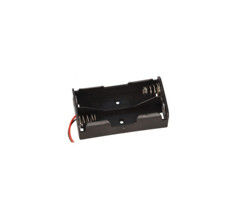 2x 18650 Lithium-Ion Battery Holder for Flat Top Batteries