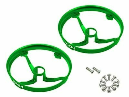 Rakon CNC AL Propeller Guards (Green) - Blade Inductrix 31mm