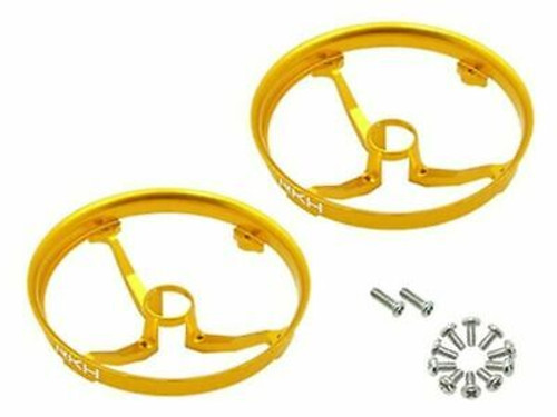 Rakon CNC AL Propeller Guards (Gold) - Blade Inductrix