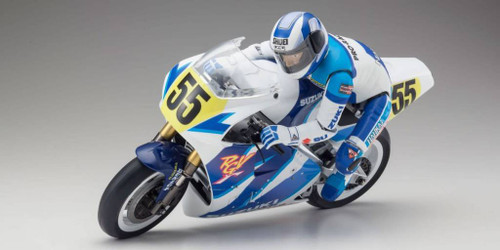 Kyosho (34931B) Hang On 1/8 EP S.R.T. SUZUKI RGV1992 RC Motorcycle Kit