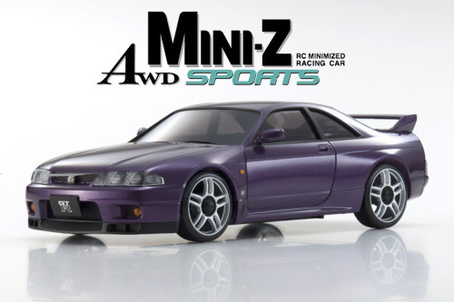 Kyosho (32139PU-B) MINI-Z MA-020S SKYLINE GT-R Midnight Purple V.Spec (R33)