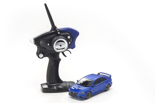 Kyosho (32142MB-B) MINI-Z AWD MA-020S MITS. LANCER EVO. X Metallic Blue RS