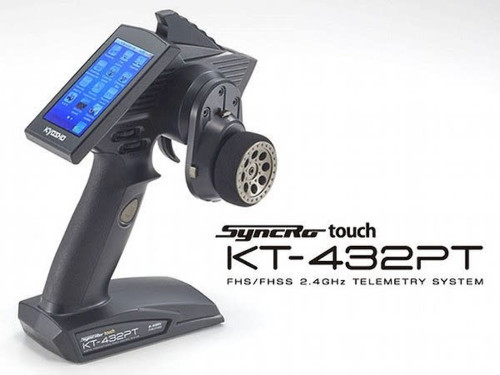 Kyosho (82136B) Syncro Touch KT-432PT Transmitter