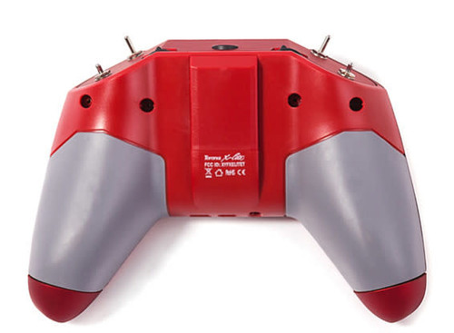 FrSky X-Lite Red Using 18650 Batteries with Case FCC Version