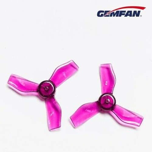 Gemfan 1220 31mm Durable 4 Blade 1mm Clear Purple 4L&4R