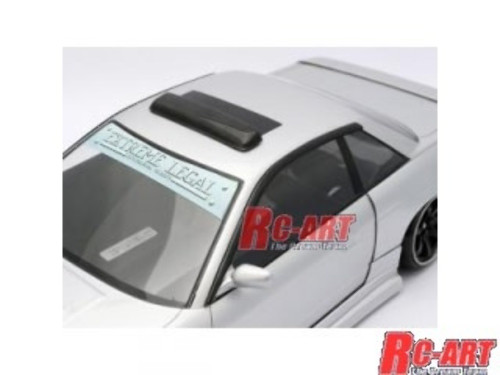 RC Art (ART6021) Roof Visor and Door Visors SET TYPE-2.