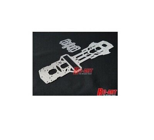 RC-Art (ART2097) Ce-Rx Type-M Main Chassis Set Silver Ca