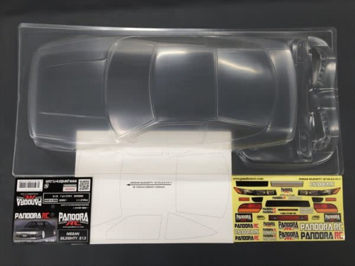Pandora RC (PAB-2111) NISSAN SILEIGHTY S13 UNPAINTED Body Only