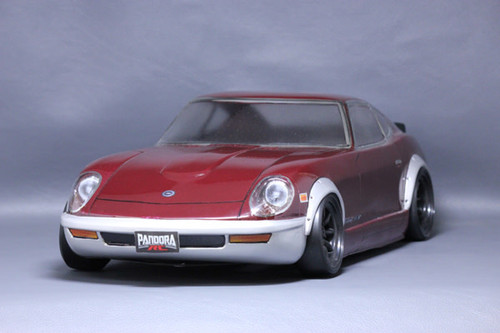 Pandora RC (PAB-2119) NISSAN FAIRLADY 240ZG UNPAINTED Body Only