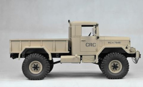 HC4 1/10 4x4 Scale Off Road Military Truck Kit