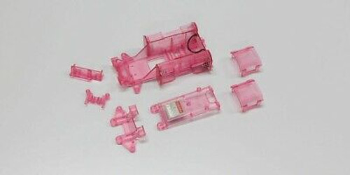 Kyosho (MZW11CP) Skelton Chassis Set Clear Purple