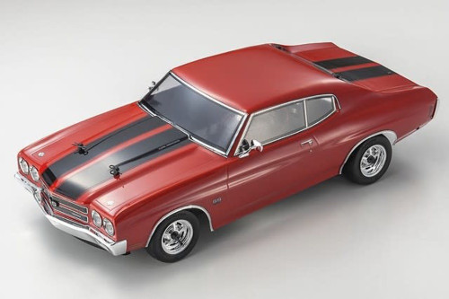 Kyosho (34053T1B) FAZER Vei Cranberry Red Chevelle SS 454 LS6 1970