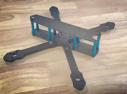 ActivateFPV ''Stella'' Frame Kit - Black