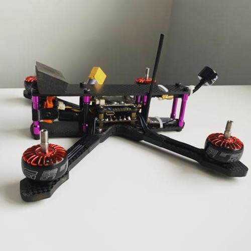 ActivateFPV ''Stella'' Frame Kit - Red