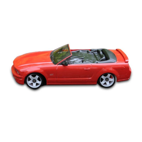Mini-Z Body Mustang Convertible 5.0 Style Red 98MM Body Only