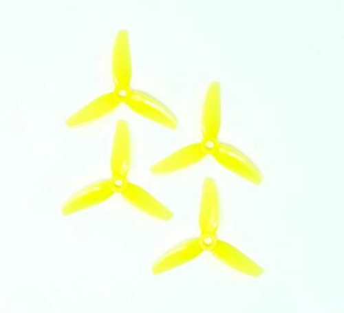 HQ Durable Prop  3X3X3 Yellow (2CW+2CCW)-Poly Carbonate
