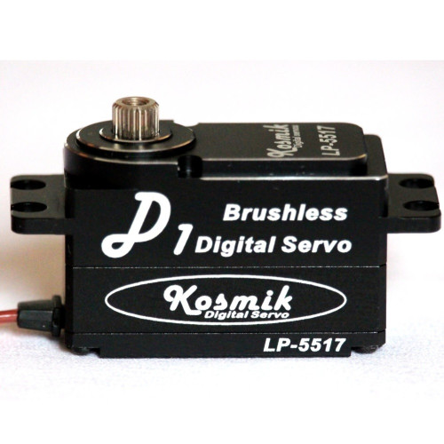 Kosmik LP-5517 D1 Low profile High Speed Brushless Servo for Drift